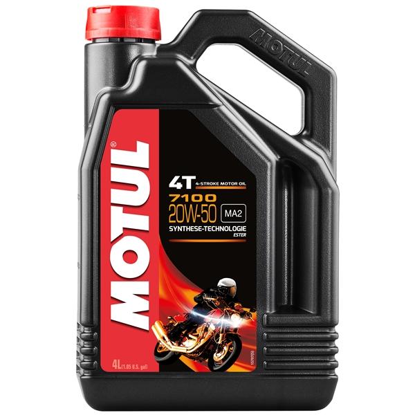 MOTUL 20W-50 synthetisch 7100 4 liter