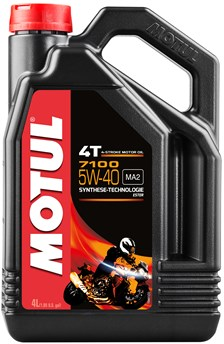 MOTUL 5W-40 synthetisch 7100 4 liter