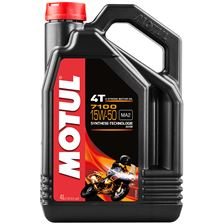 MOTUL 15W-50 synthétique 7100 4 litres