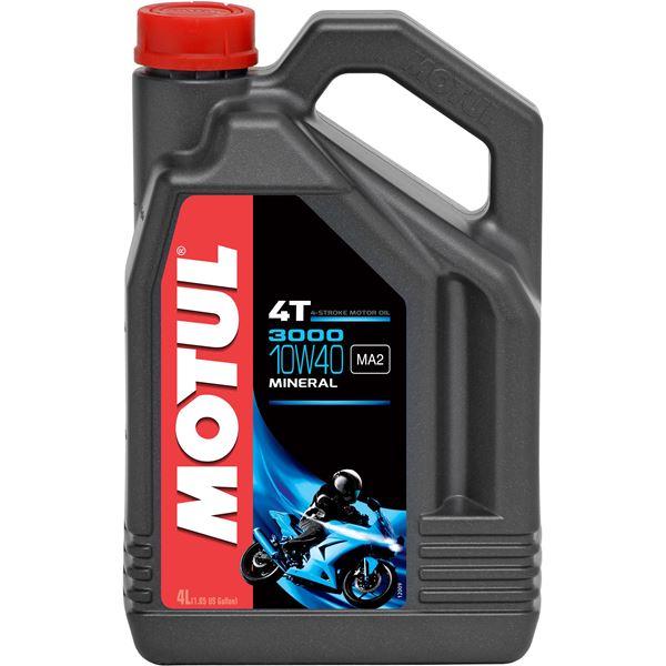 MOTUL 10W-40 mineraal 3000 4 liter