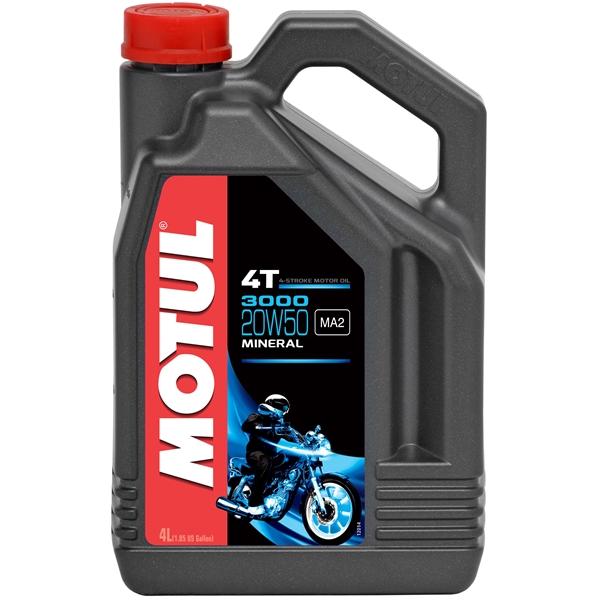 MOTUL 20W-50 minérale 3000 4 litres