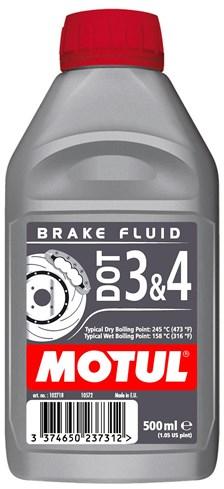 MOTUL Remvloeistof DOT 3 en 4 500 ml