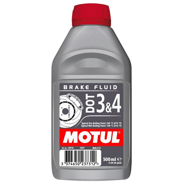 MOTUL Liquide de frein DOT3 et 4 500 ml