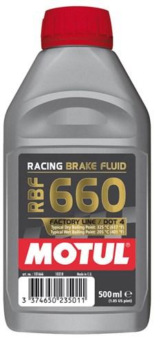 Remvloeistof DOT4 factory line racing 660 500 ml