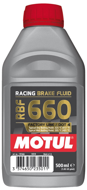 MOTUL Remvloeistof DOT4 factory line racing 660 500 ml