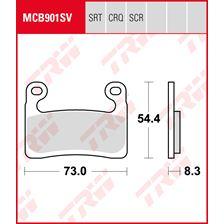 TRW Plaquettes de frein SRT MCB901SRT