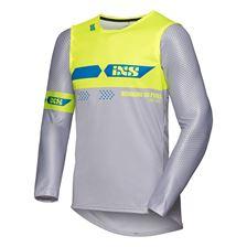 IXS MX jersey 2.0 Slim Grijs - Fluogeel