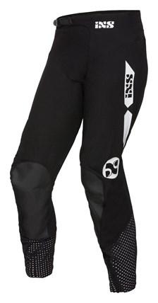 IXS MX broek 2.0 stretch Zwart - wit
