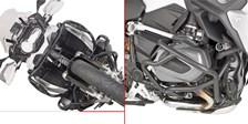 GIVI Crash bars en acier bas du moteur TN5128