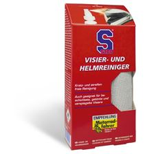 S100 Helm- en vizierreiniger + microvezeldoek 100ml