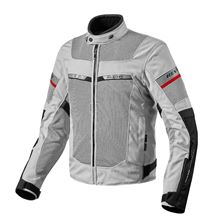 REV'IT! Tornado 2 Jacket Zilver - Zwart