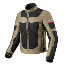 REV'IT! Tornado 2 Jacket Zand - Zwart