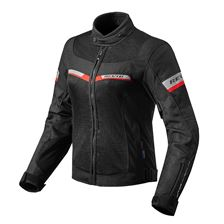 REV'IT! Tornado 2 Lady Jacket Zwart