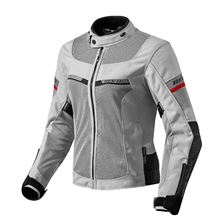 REV'IT! Tornado 2 Lady Jacket Zilver - Zwart