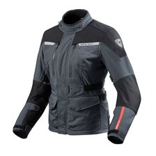 REV'IT! Horizon 2 Lady Jacket Antraciet - Zwart