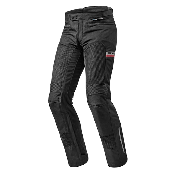 REV'IT! Tornado 2 Pants Zwart kort