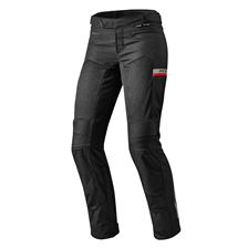 REV'IT! Tornado 2 Lady Pants Noir courtes
