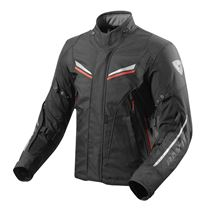 REV'IT! Vapor 2 jacket Noir - Rouge