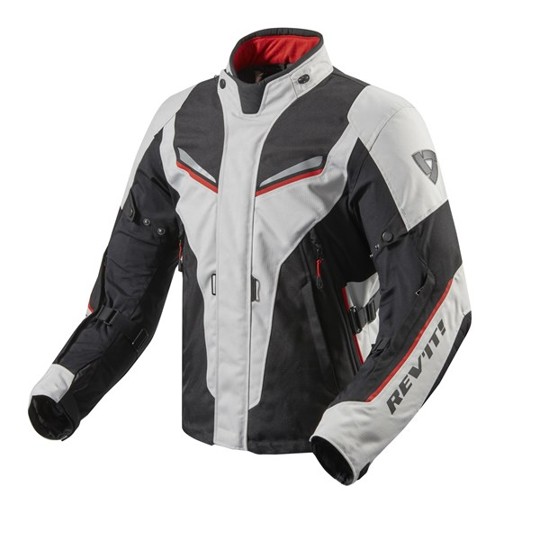 REV'IT! Vapor 2 jacket Zilver - Zwart