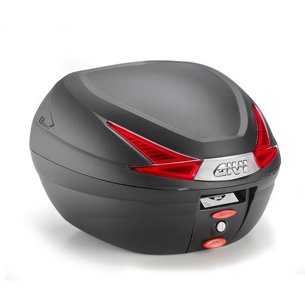 GIVI B330 topkoffer rode reflectoren