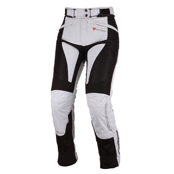 MODEKA Breeze Lady Pants Gris-Noir Taille courte