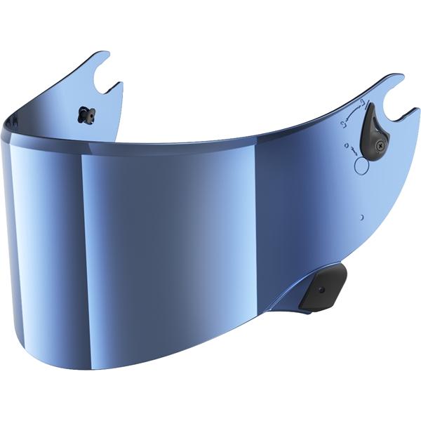 SHARK Vizier VZ100 Blauw metalic V2