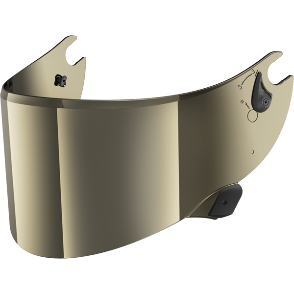 SHARK Visière VZ100 Or métalique V2
