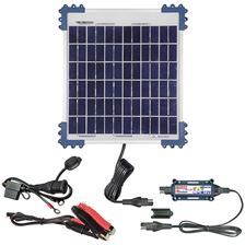 OPTIMATE Solar + 10W-zonnepaneel 12V/0,83A TM522-1