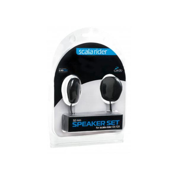 CARDO Écouteurs Qz/Q1/Q3/G9x/Packtalk/Freecom 32 mm