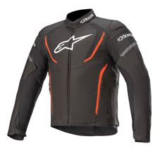 ALPINESTARS T-Jaws V3 Waterproof Jacket Zwart-Rood Fluo