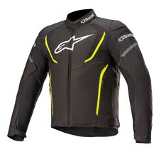 ALPINESTARS T-Jaws V3 Waterproof Jacket Zwart-Geel Fluo