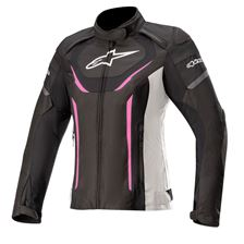 ALPINESTARS Stella T-Jaws V3 Waterproof Jacket Zwart-Wit-Fuchsia