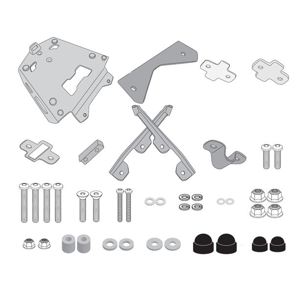 GIVI Topkofferhouder aluminium - SRA SRA5134