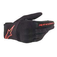 ALPINESTARS Copper Glove Noir-Rouge Fluo