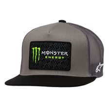 ALPINESTARS Monster Champ Trucker Hat Grijs-Zwart