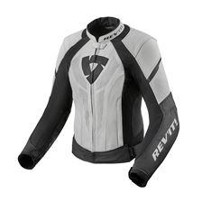 REV'IT! Xena 3 Lady Jacket Blanc - Noir