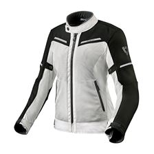 REV'IT! Airwave 3 Lady Jacket Zilver - Zwart