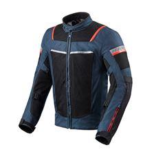 REV'IT! Tornado 3 Jacket Bleu foncé - Noir