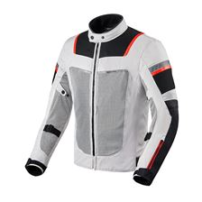 REV'IT! Tornado 3 Jacket Argent - Noir