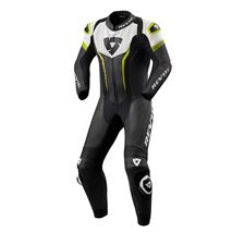 REV'IT! Argon 1-piece suit Noir - Jaune fluo