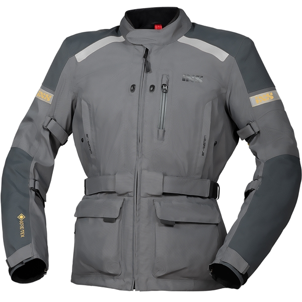 IXS Master-GTX jacket Lichtgrijs - Donkergrijs