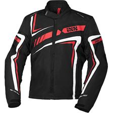 IXS RS-400-ST 2.0 jacket Noir - Rouge