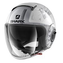 SHARK Nano Tribute RM Blanc-Argent-Argent WSS