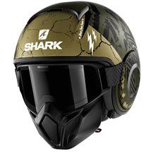 SHARK Street-Drak Crower Mat Vert-Noir-Vert GKG