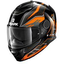 SHARK Spartan 1.2 Antheon Noir-Orange-Noir KOK