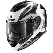 SHARK Spartan 1.2 Antheon Wit-Zilver-Zwart WSK