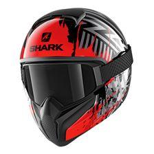 SHARK Vancore 2 Overnight Zwart-Rood-Zilver KRS
