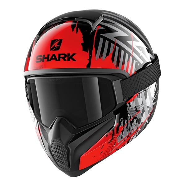 SHARK Vancore 2 Overnight Noir-Rouge-Argent KRS