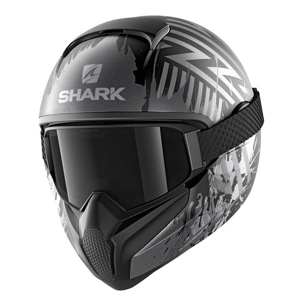 SHARK Vancore 2 Overnight Mat Noir-Anthracite-Argent KAS