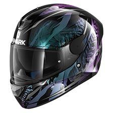 SHARK D-Skwal 2 Shigan Lady Noir-Violet-Glitter KVX